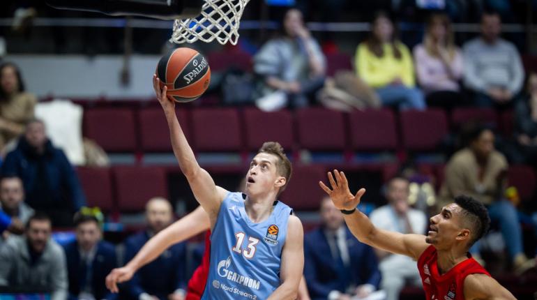 Баскетбольный «Зенит» потерпел пятое подряд поражение в Евролиге