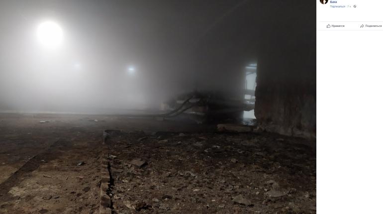 Подвалы дома Бака затопило кипятком