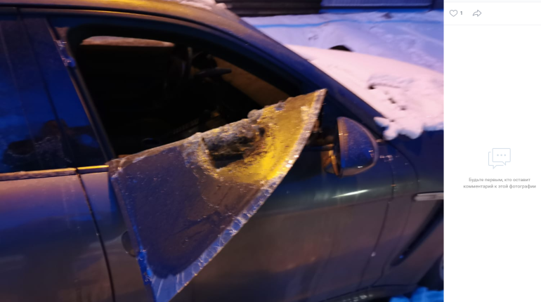 Жителю Петербурга подожгли припаркованный Porsche