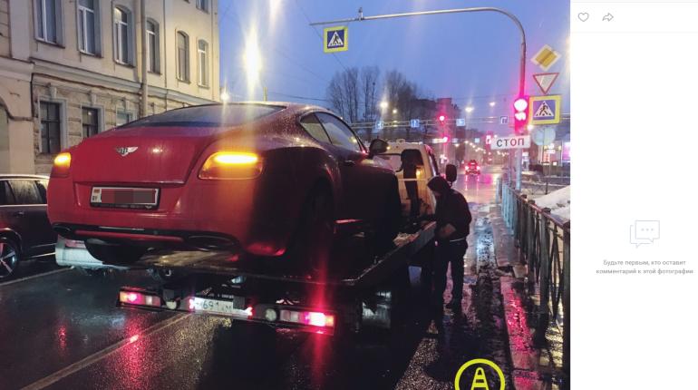 «Мажор» на Bentley приехал в Петербург отдохнуть, его задержали за «пьяное» вождение
