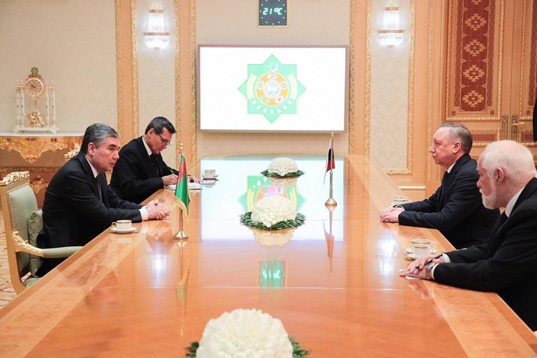 Петербург поставит Туркменистану оборудование и получит сельхозпродукцию