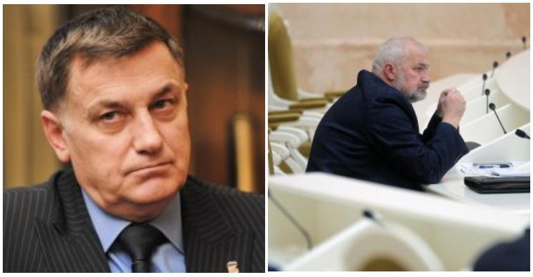 Амосов и Макаров сцепились в ЗакСе из-за «Единой России»