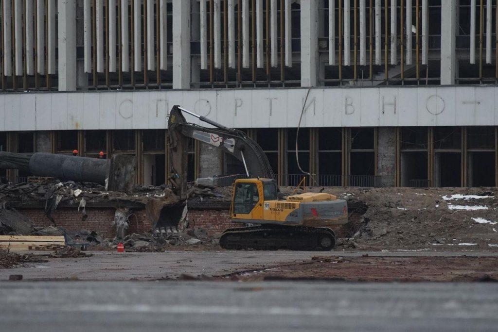 Сайт рухнувшего СКК «Петербургский» заблокировали