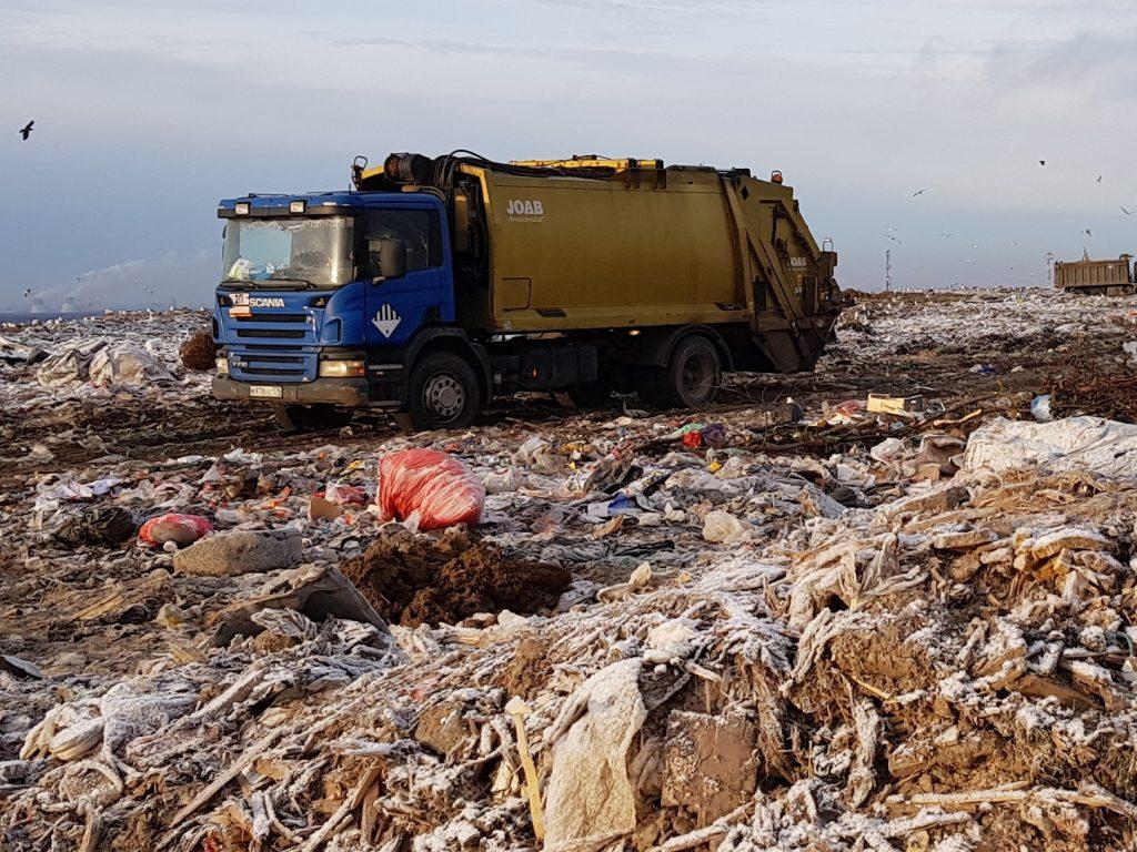 Жители добиваются закрытия мусорного полигона под Всеволожском «Северная Самарка»