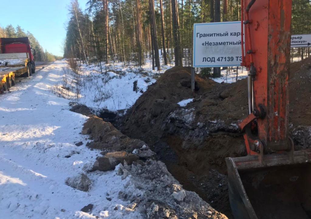 Дорожники Ленобласти уничтожили полсотни незаконных дорог