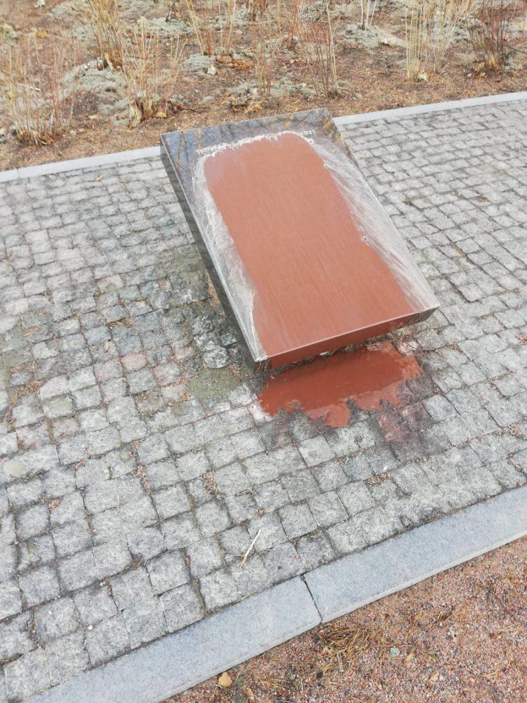 По факту вандализма в Приморске возбуждено уголовное дело