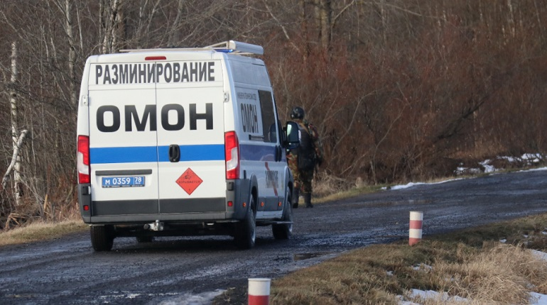 На Челябинской улице нашли снаряд времен войны