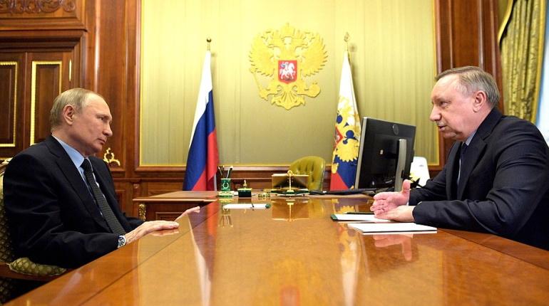 «Для Питера не жалко»: Беглов поблагодарил Путина за финансирование арт-парка