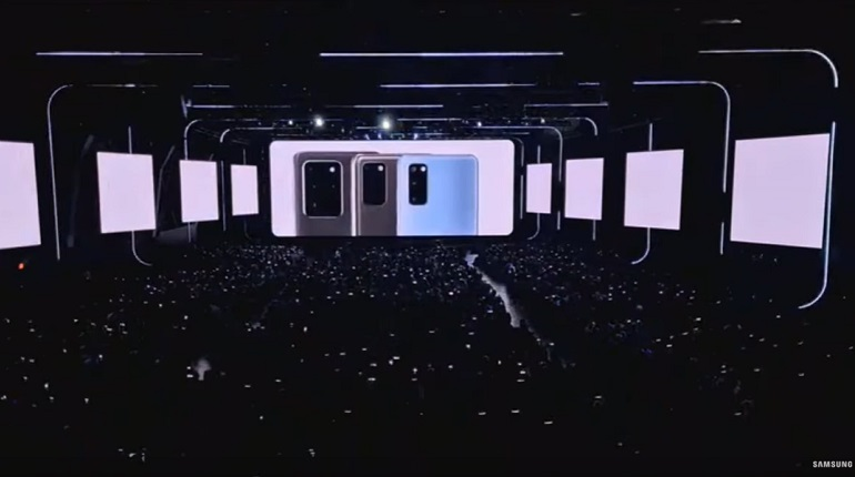 Samsung представила новые смартфоны