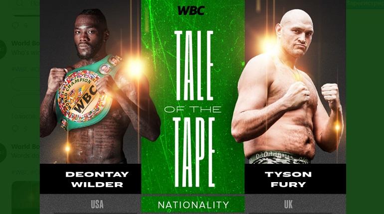 Фьюри одолелУайлдера и получилтитул чемпиона мира по боксу по версии WBC