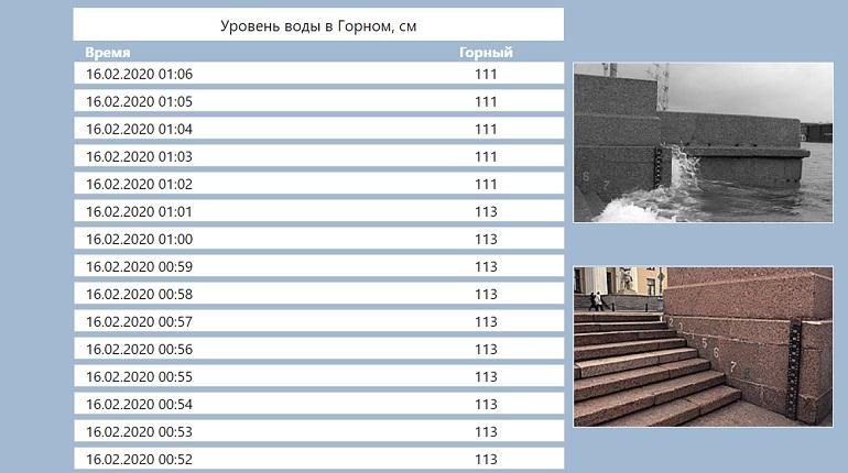 В Петербурге штормовой ветер поднял уровень воды в Неве
