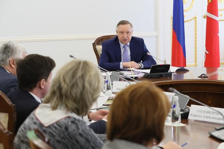 За прошедшую неделю Беглов подписал 18 постановлений и один городской закон