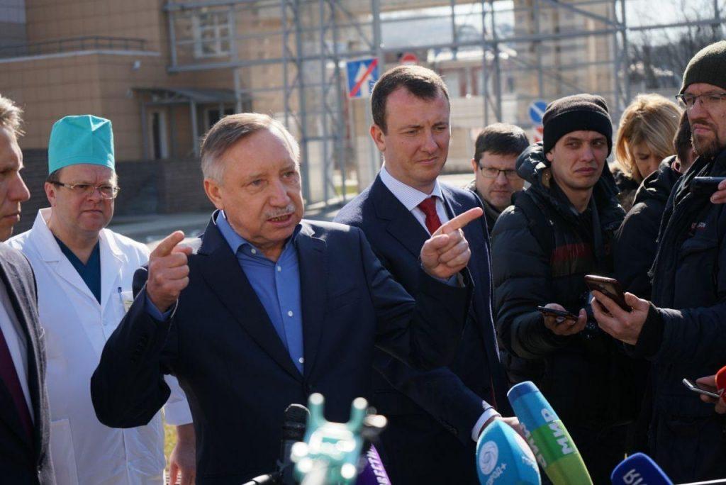 «У нас вопросов нет»: Мурашко и Беглов поговорили про коронавирус в Боткина