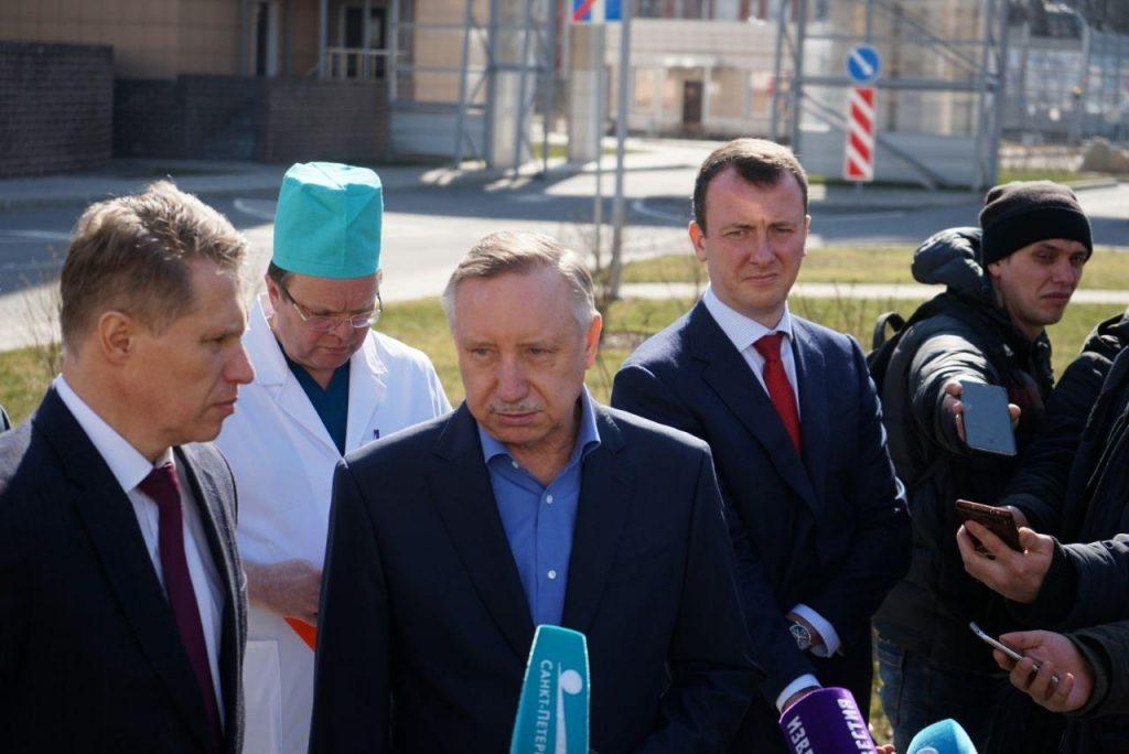 Беглов выразил соболезнования семьям жертв коронавируса