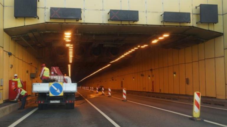 В тоннеле дамбы вновь ограничат движение