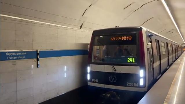 Метрополитен Петербурга до конца года обзаведётся 40 новыми вагонами