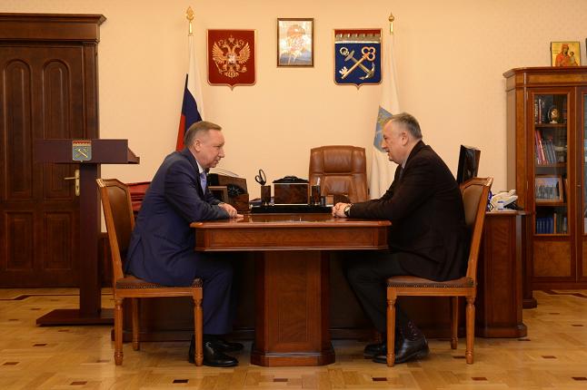 Беглов и Дрозденко обсудили новые механизмы интеграции Петербурга и Ленобласти