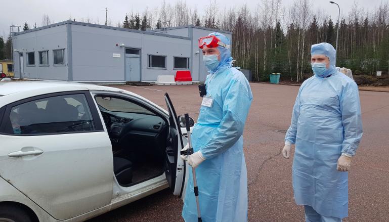 Таможенники приготовились встречать коронавирусных на границе с Финляндией