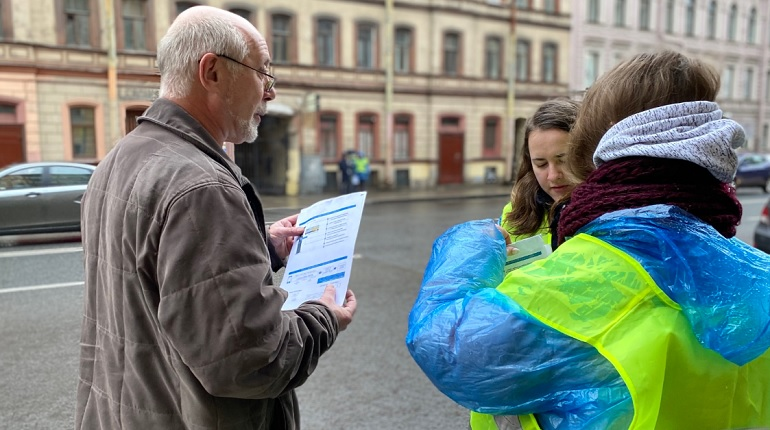 Штабы социального волонтёрства соберут в каждом районе Петербурга