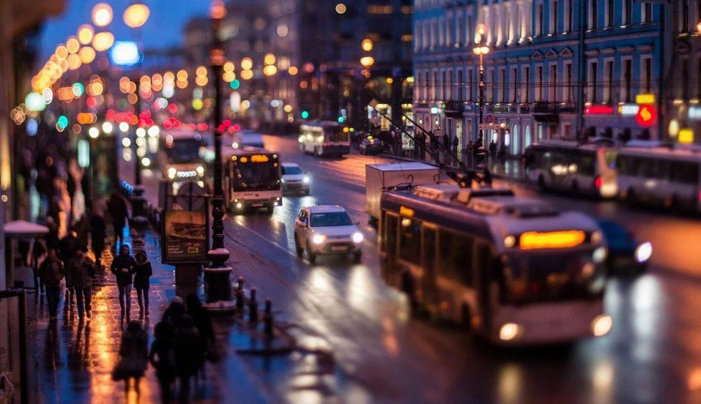 Наружная система оповещения в Петербурге в коронавирус почти не задействована