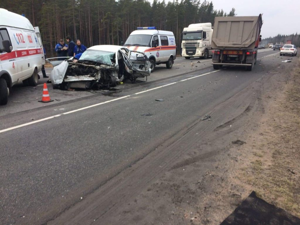 Подробности ДТП на «Скандинавии»: пострадали семеро, один в реанимации