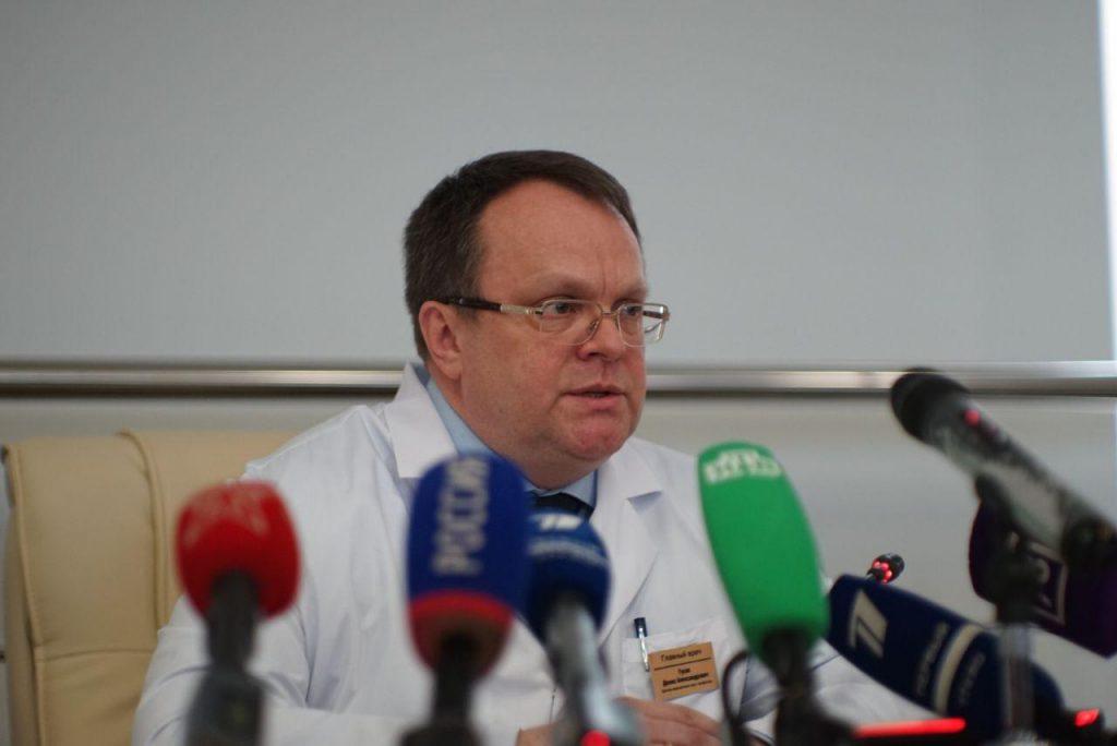Главврач Боткина Денис Гусев описал главные симптомы коронавируса