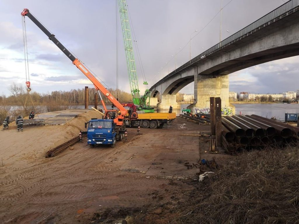 Новые мосты через Волхов и Свирь обзаведутся опорами