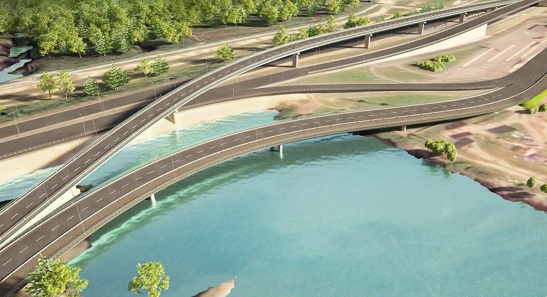 Стало известно, кто построит эстакадные съезды на Приморском шоссе