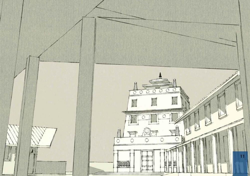 Буддисты Петербурга ищут деньги для строительства храма на Заповедной