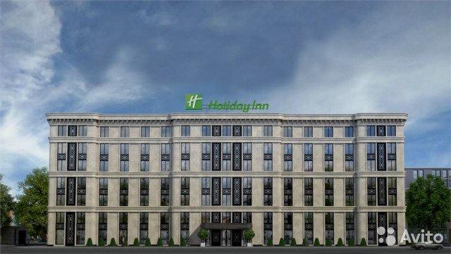 В центре Петербурга продают земельный участок под Holiday Inn
