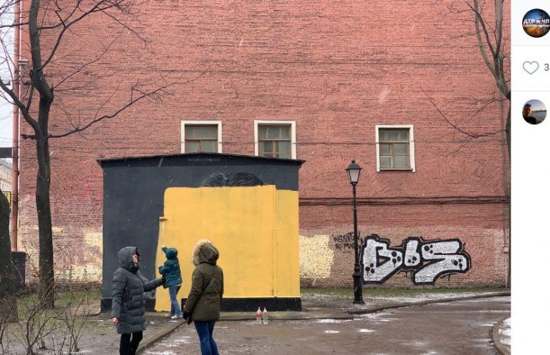 ГАТИ начала борьбу с уличными художниками в четырех районах Петербурга