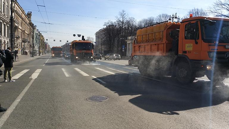 Сахара выслала песка для пылевых бурь весной в Петербурге