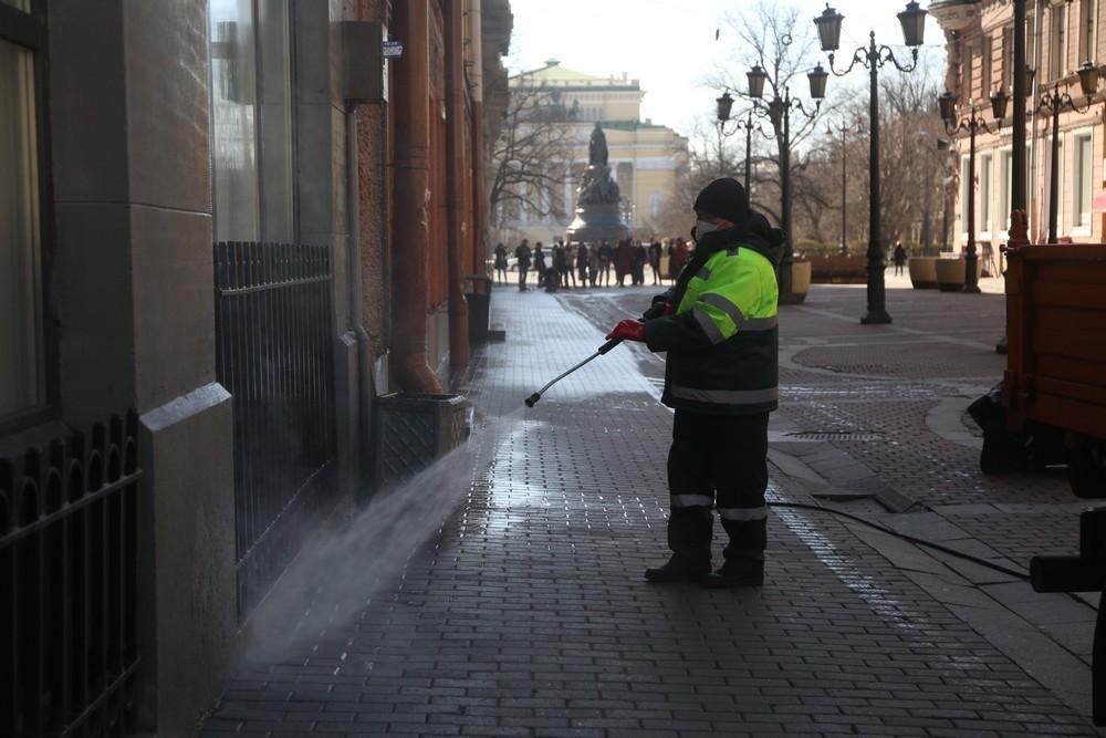 ГЖИ взяла под контроль уборку в Петербурге