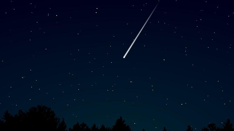 Петербуржцы на даче смогут увидеть метеорный поток Лириды в ночь на 22 апреля