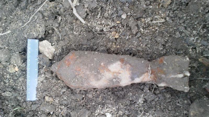В двух районах Петербурга откопали артснаряды времен войны