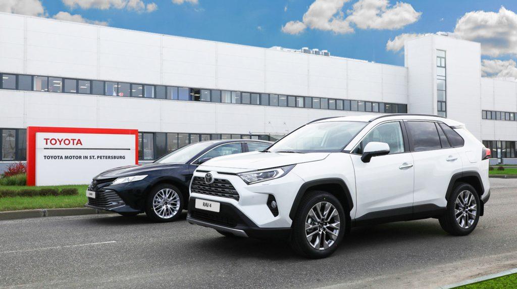 Петербургский завод Toyota начинает экспорт машин в Армению