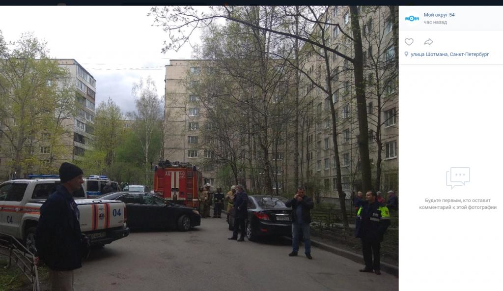 Заскучавший петербуржец угрожал взорвать жилой дом на Искровском