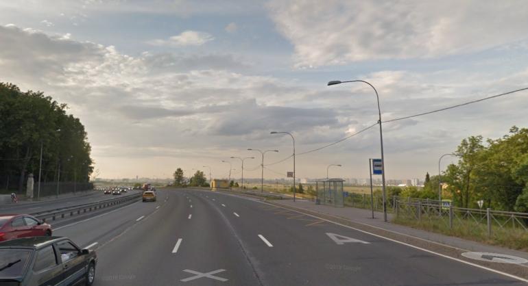 Водителей предупредили о проблемах на развязке КАД и Пулковского шоссе