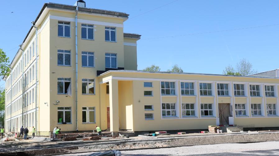 Гимназию № 406 в Пушкине откроют к 1 сентября
