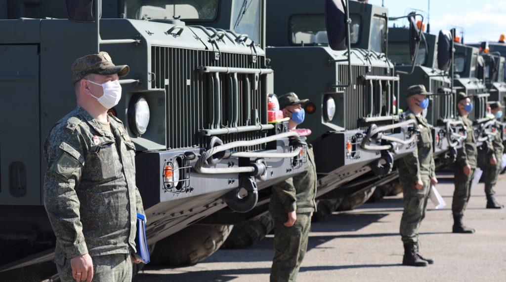 В Петербург прибыли военные — участники Парада Победы