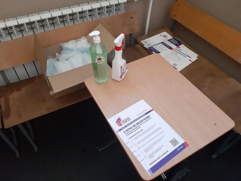Без рукопожатий и еды: что запретил Роспотребнадзор на избирательных участках