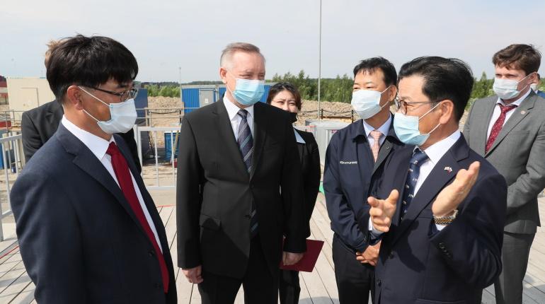 Беглов пообещал Hyundai поддержку на всех этапах строительства нового завода