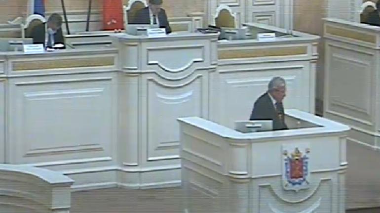 Депутаты ЗакСа раскритиковали главу Кировского района Иванова