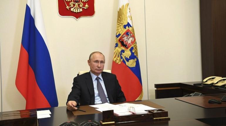 Путин перенес юридический форум в Петербурге на май 2021 года