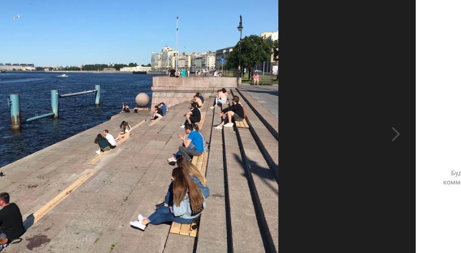 Волонтеры обустроили зону отдыха на Воскресенской набережной