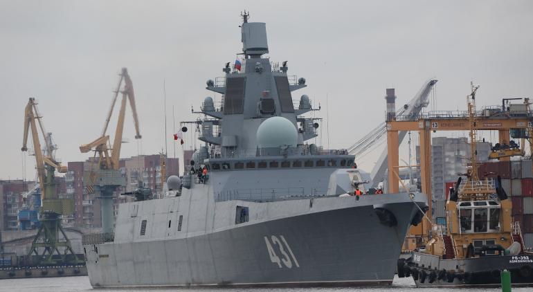 В июле «Адмирал флота Касатонов» пополнит ряды ВМФ России
