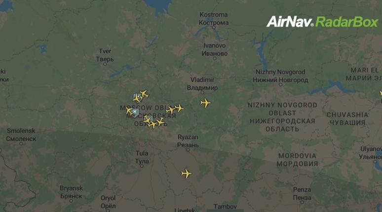 Туман заставил самолеты задержать посадку в Пулково