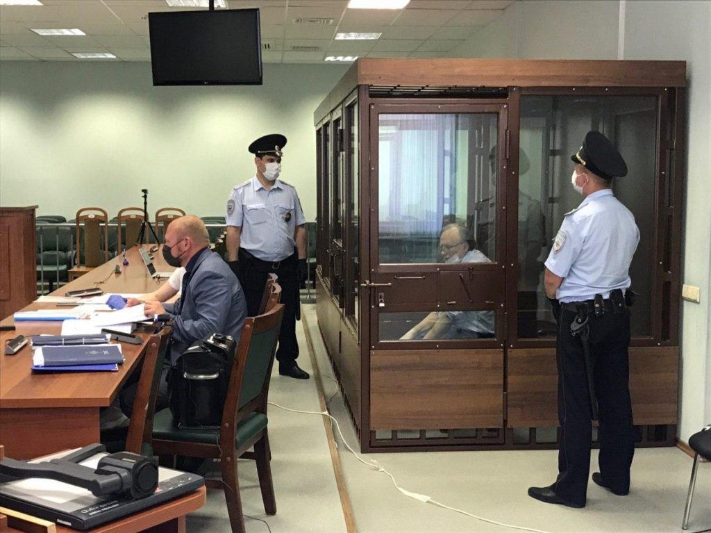 У экс-доцента Соколова на суде началась истерика