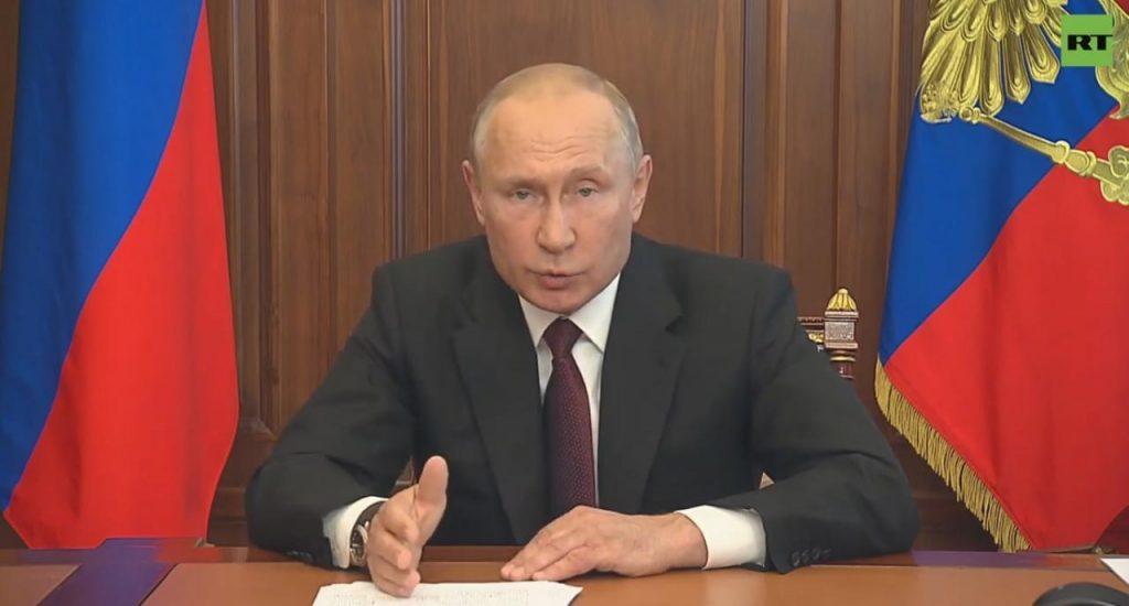 Путин порассуждал о нацистах и прошлом России