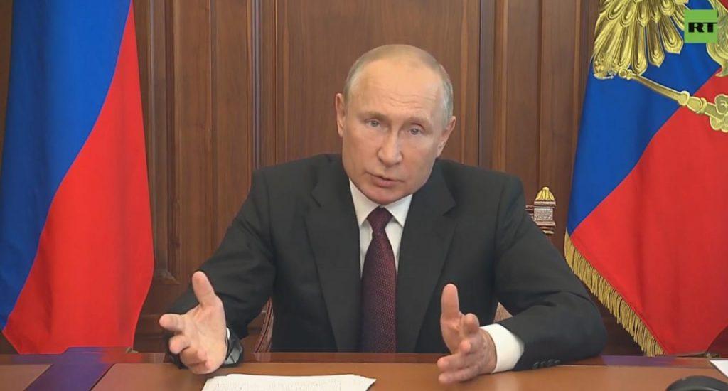 Путин высказался о принятых мерах экономики